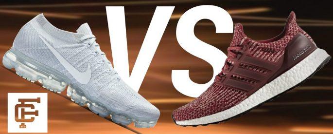 so sánh giày nike và adidas