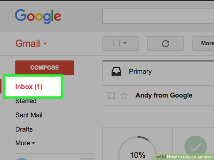 kiểm tra mail amazon