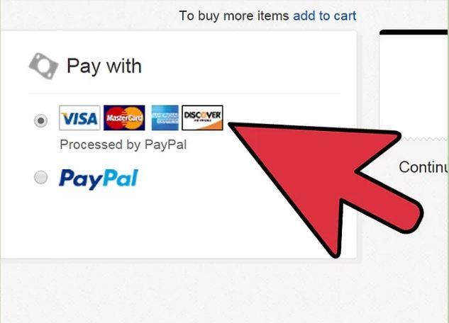 thanh toan khi mua hang tren Ebay