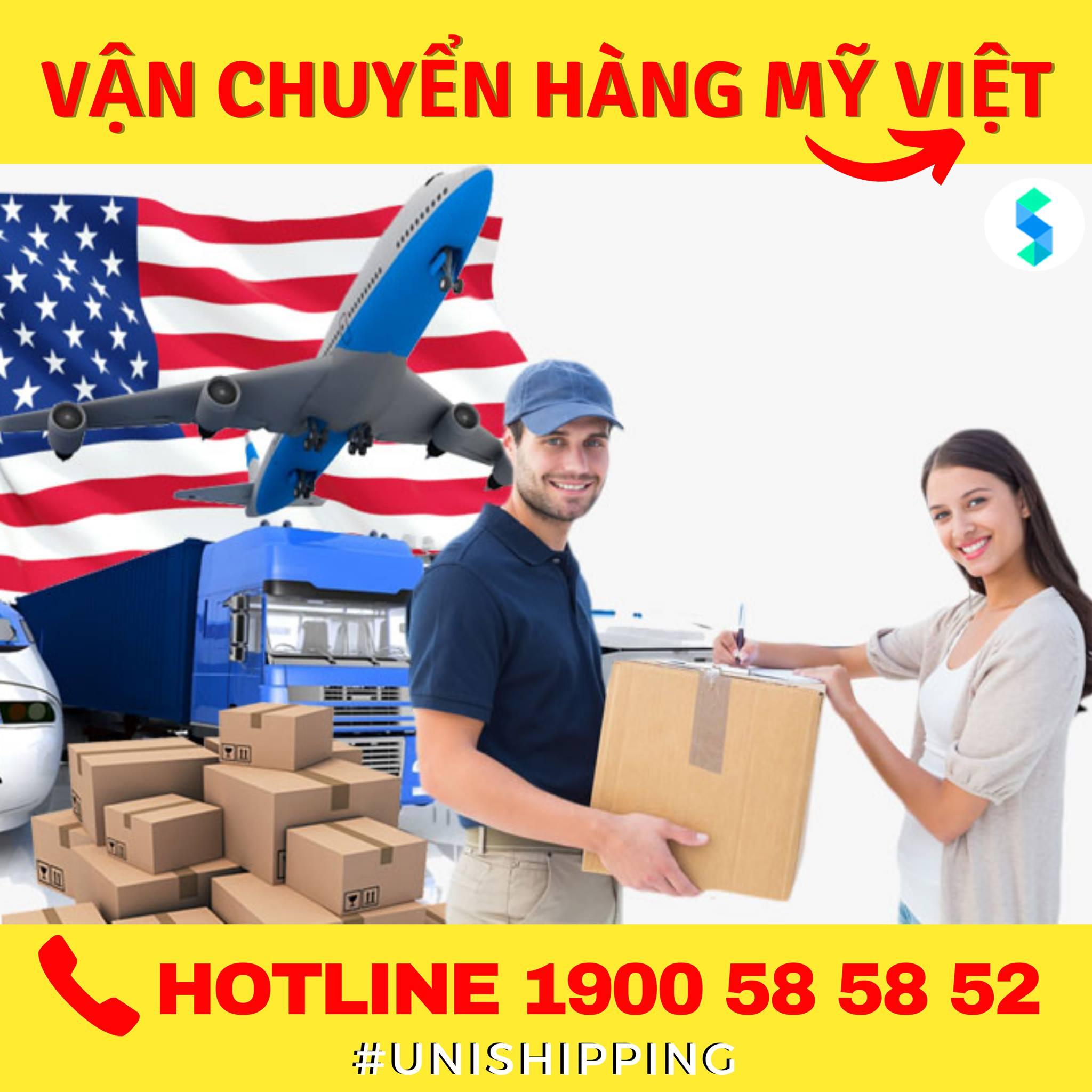 Unishipping- dịch vụ vận chuyển hàng Mỹ - Việt